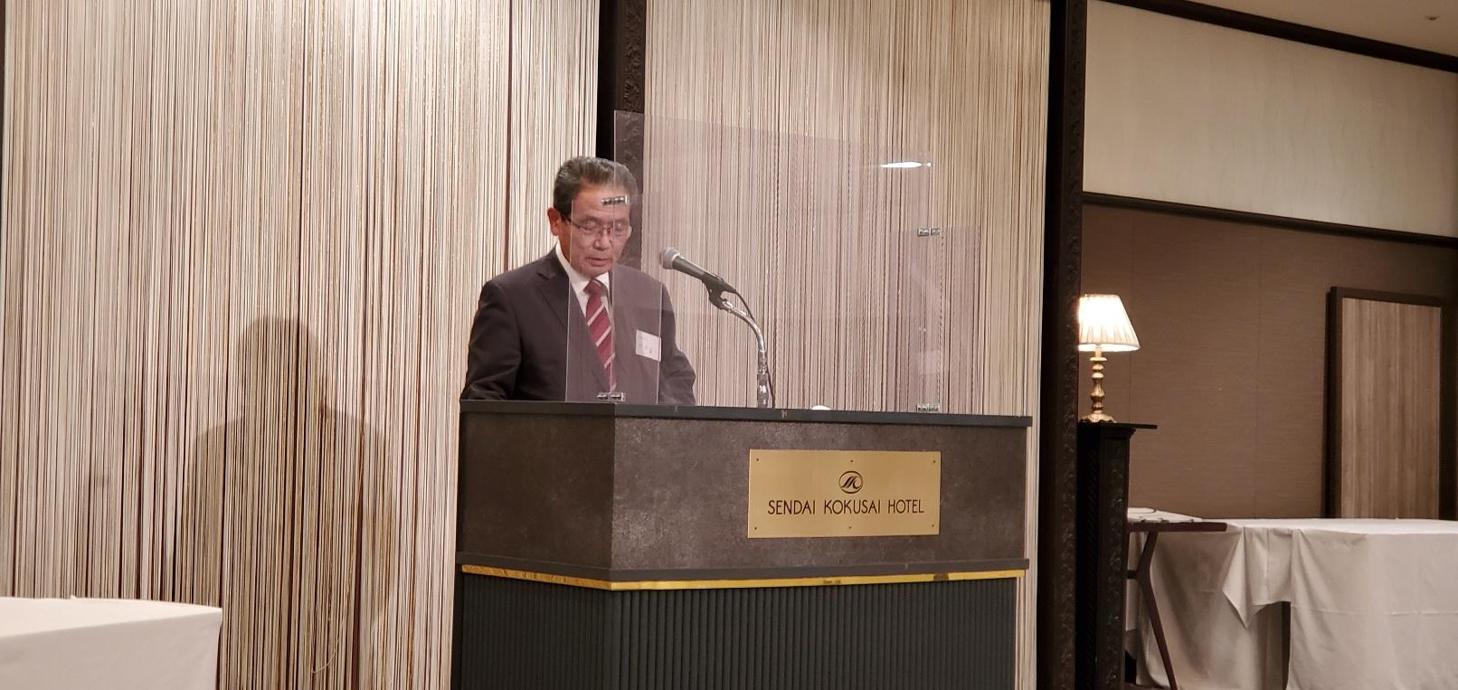 伊東会長の挨拶